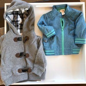 Other - Baby boy coats 0-3 mo & 6 mo